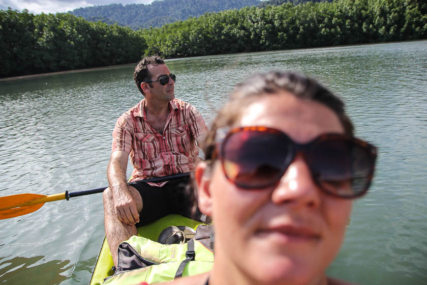 Ko Chang canoeing